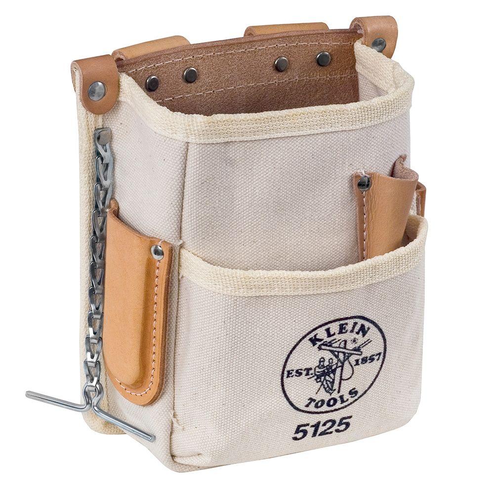 KLEIN 5ポケットキャンバスツールポーチ/電設工具 配管工具 空調工具 専門店