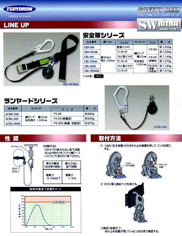 ACRL−593 スウィングリトラ/電設工具 配管工具 空調工具 専門店