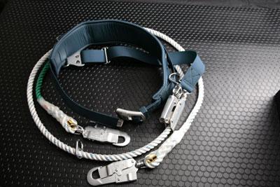 TE-27K(一本つり U字つり兼用)補助フック尻掛けベルトつき/電設工具 配管工具 空調工具 専門店