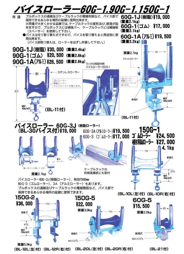 ダイワ製作所 バイスローラー 60G-1 90G-1 150G-1/電設工具 配管工具 空調工具 専門店