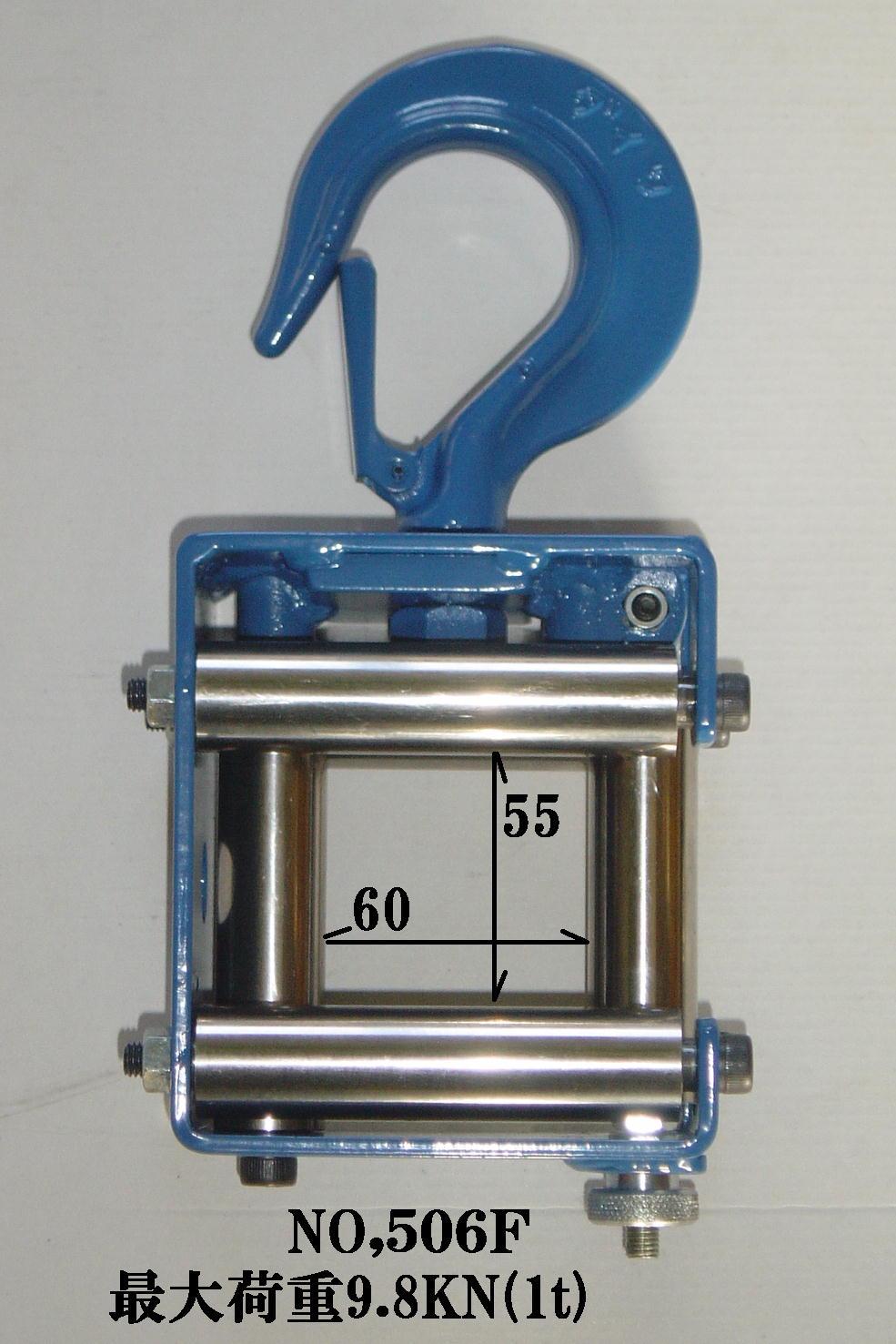 ダイワ 506f アルミ合金製釣車/電設工具 配管工具 空調工具 専門店