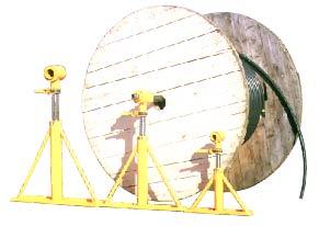 イクラ ドラムジャッキ ケーブルジャッキ ISG-2000/電設工具 配管工具 空調工具 専門店